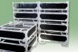 Columnless, stackable frames for casts